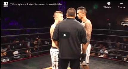 7 Kris Kyle vs Ikaika Sasaoka : Hawaii MMA