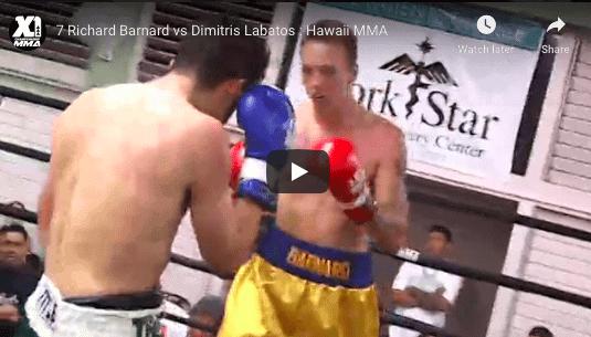 7 Richard Barnard vs Dimitris Labatos : Hawaii MMA