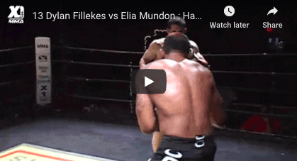 13 Dylan Fillekes vs Elia Mundon : Hawaii MMA