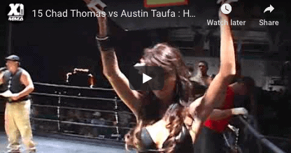 15 Chad Thomas vs Austin Taufa : Hawaii MMA