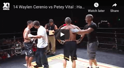 Waylen Cerenio vs Petey Vital Hawaii MMA