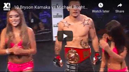 10 Bryson Kamaka vs Michael Brightmon: Hawaii MMA
