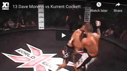 13 Dave Moreno vs Kurrent Cockett: Hawaii MMA