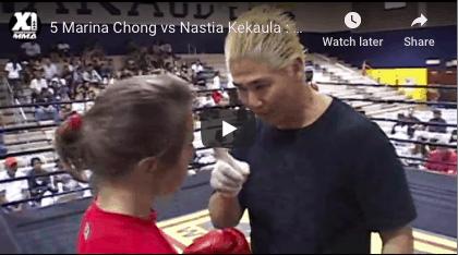 5 Marina Chong vs Nastia Kekaula : Hawaii MMA