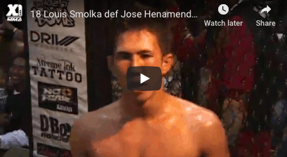 18 Louis Smolka vs Jose Henamendez: Hawaii MMA
