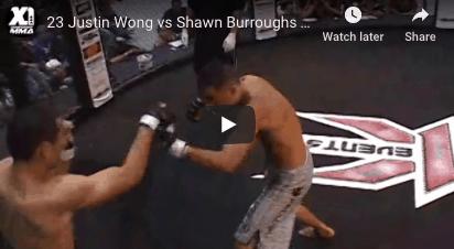23 Justin Wong vs Shawn Burroughs : Hawaii MMA