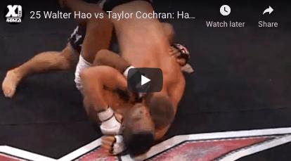 25 Walter Hao vs Taylor Cochran: Hawaii MMA