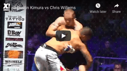 3 Dustin Kimura vs Chris Willems