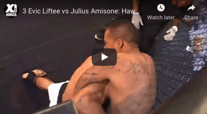 3 Evic Liftee vs Julius Amisone