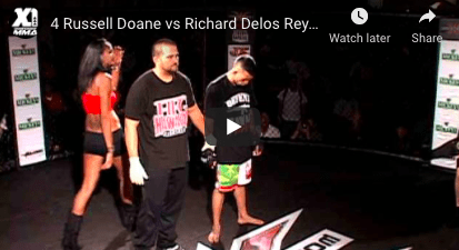 4 Russell Doane vs Richard Delos Reyes : Hawaii MMA