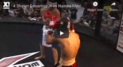 4 Shawn Desantos Jr vs Nainoa Mesiona: MMA Hawaii