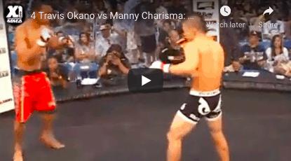 4 Travis Okano vs Manny Charisma: