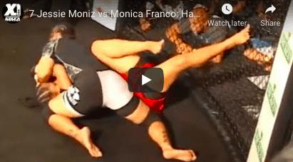 7 Jessie Moniz vs Monica Franco