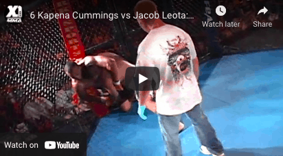 6 Kapena Cummings vs Jacob Leota
