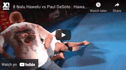 8 Nalu Hawelu vs Paul DeSoto : Hawaii MMA